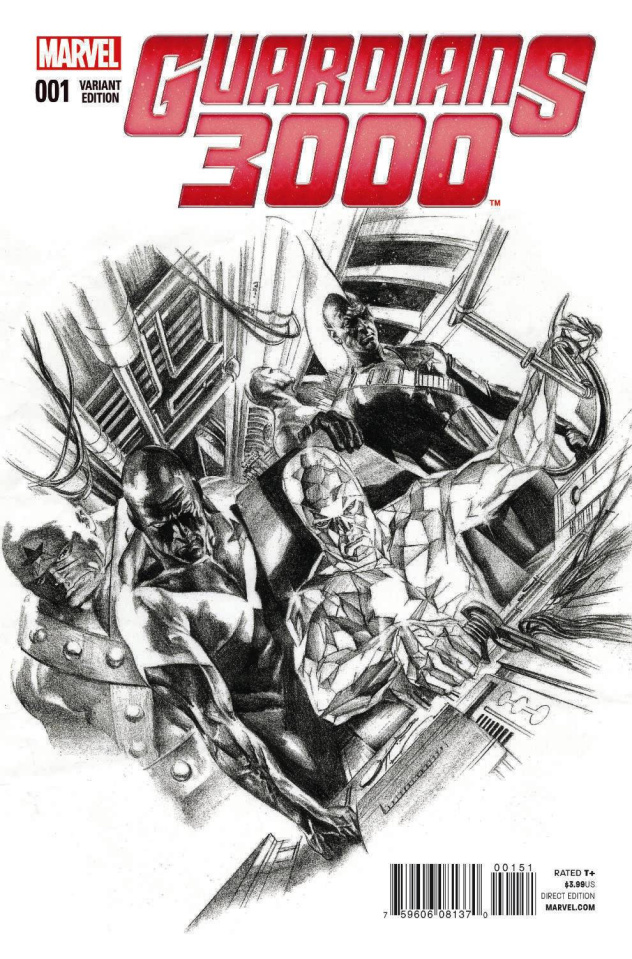 Guardians 3000 #1 (Ross Sketch Cover)