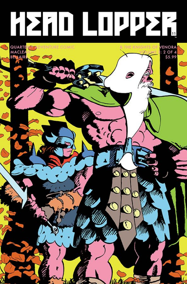 Head Lopper #11 (Gofa Cover)