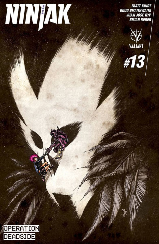 Ninjak #13 (Copy Lee Cover)