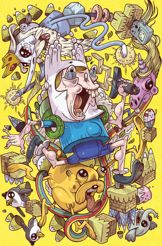 Adventure Time Comics #2 (15 Copy Calame Cover)