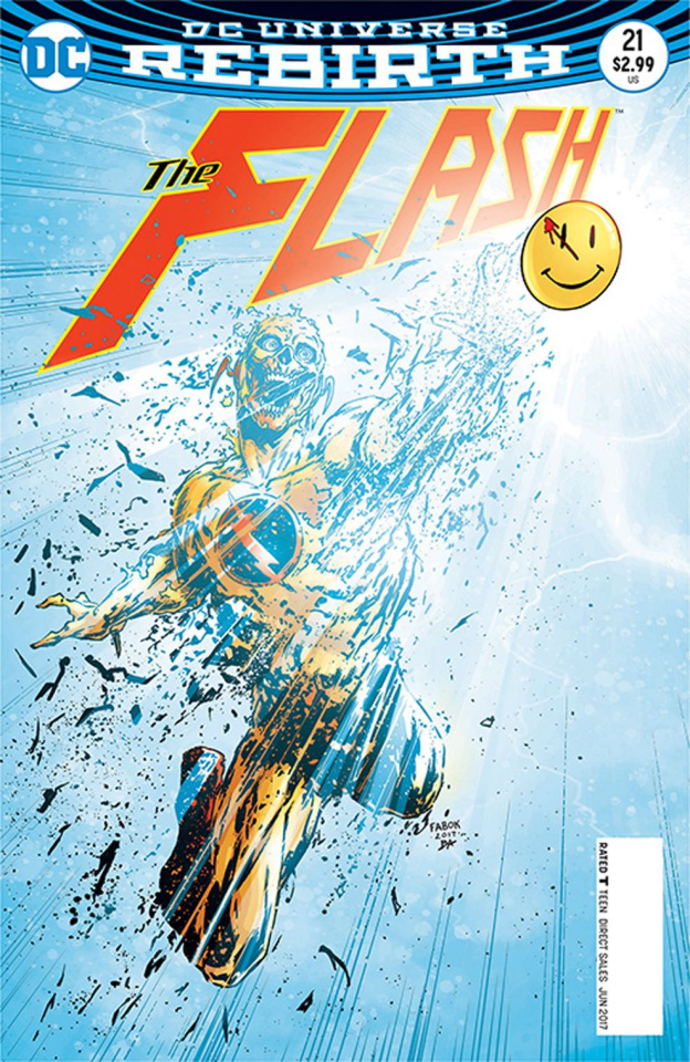The Flash #21 (The Button)