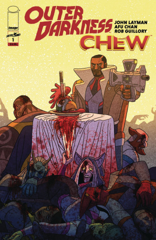 Outer Darkness / Chew #1 (Chan Cover)