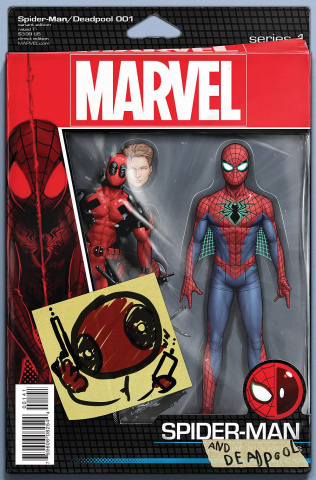 Spider-Man / Deadpool #1 (Christopher Action Figure Cover)