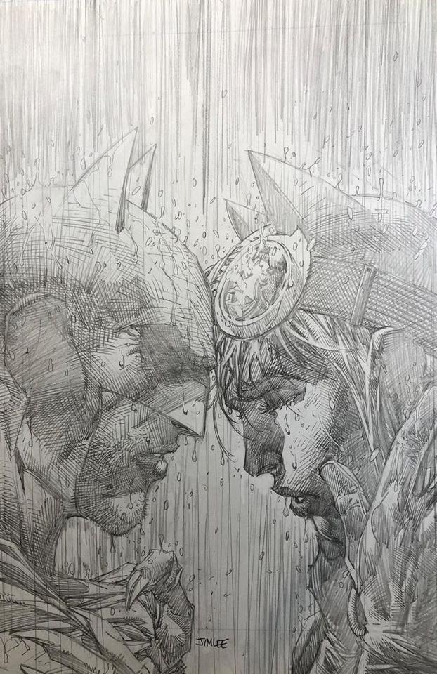 Batman #50 (Jim Lee Pencils Cover)