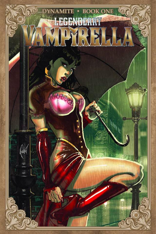 Legenderry: Vampirella #1 (Poulat Bombshell Cover)