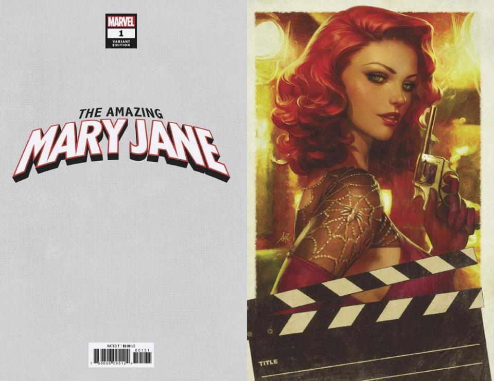 The Amazing Mary Jane #1 (Artgerm Virgin Cover)