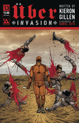Über: Invasion #13 (Blitzkreig Cover)