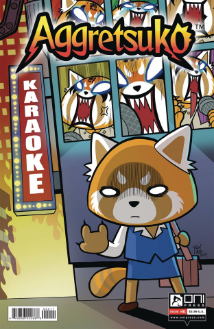 Aggretsuko #1 (Little Cover)