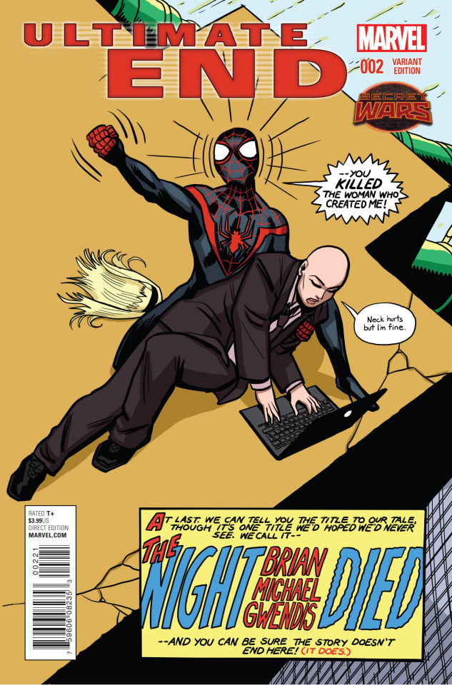 Ultimate End #2 (Zdarsky Brian Michael Gwendis Cover)