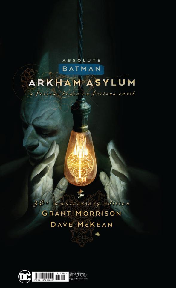 Absolute Batman: Arkham Asylum (30th Anniversary Edition)
