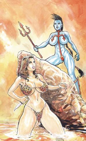 Cavewoman: Riptide (Massey Cover)