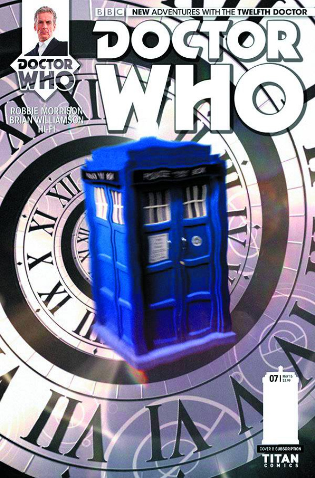 Doctor Who: New Adventures with the Twelfth Doctor #7 (Subscription Photo Cover)