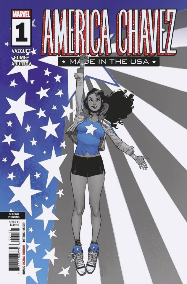 America Chavez: Made in the U.S.A. #1 (Pichelli 2nd Printing)