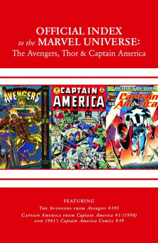 The Official Index to the Marvel Universe #13 (Avengers, Thor & Captain America)
