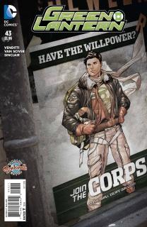 Green Lantern #43 (Bombshells Cover)