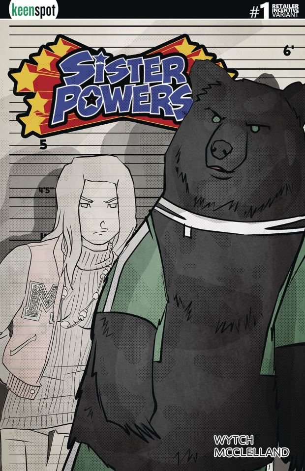 Sister Powers #1 (5 Copy Transformed Cover)