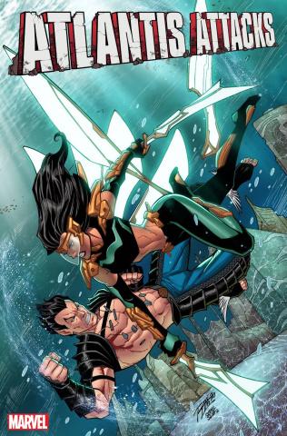 Atlantis Attacks #2 (Ron Lim Cover)