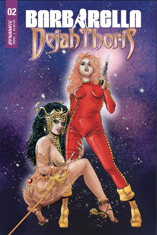 Barbarella / Dejah Thoris #2 (Broxton Cover)