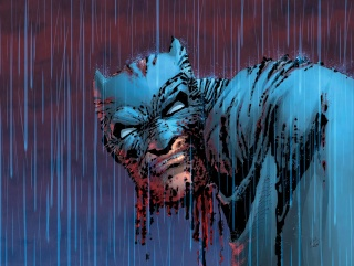 Dark Knight III: The Master Race #2 (Miller Cover)