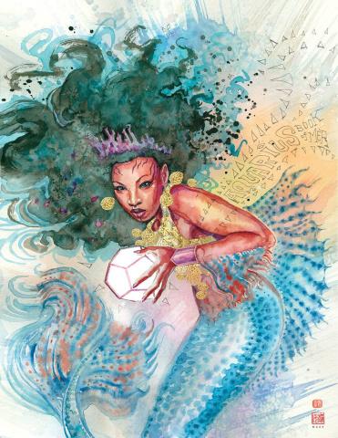 Aquarius: The Book of Mer #1 (Mack Cover)