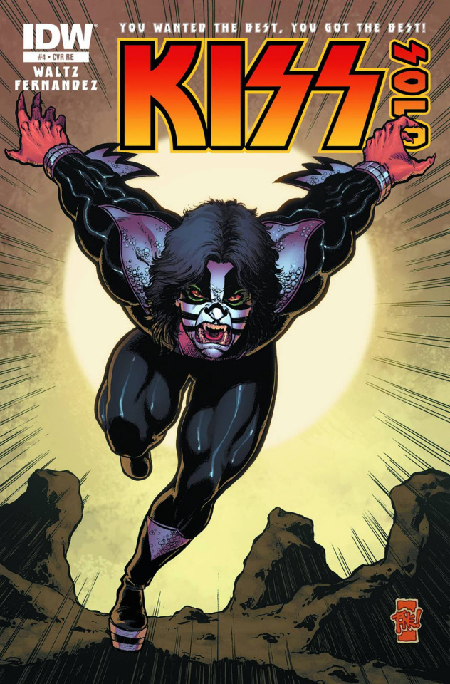 KISS: Solo #4: The Catman