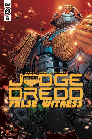 Judge Dredd: False Witness #2 (10 Copy Meyers Cover)