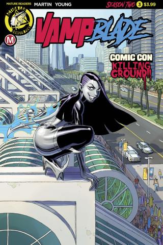 Vampblade, Season Two #3 (Winston Young Cover)