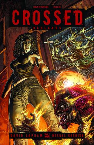 Crossed: Badlands #22 (Torture Cover)