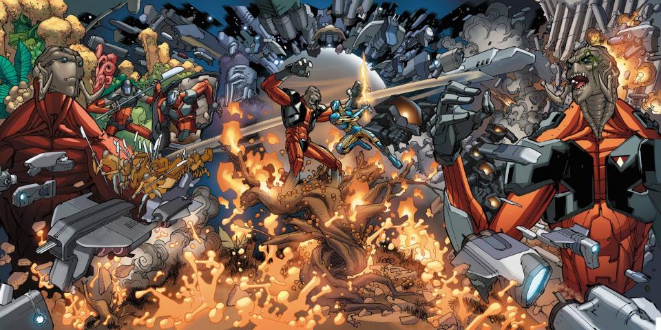 X-O Manowar: Commander Trill #0 (20 Copy Lafuente Cover)