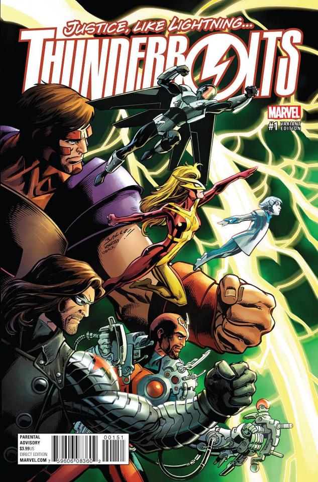 Thunderbolts #1 (Bagley Cover)
