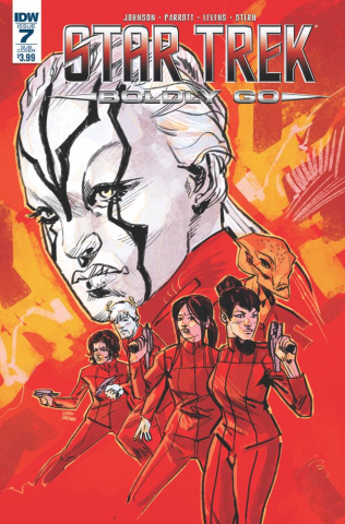 Star Trek: Boldly Go #7 (Subscription Cover)