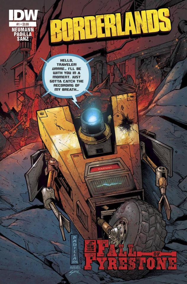 Borderlands: The Fall of Fyrestone #1