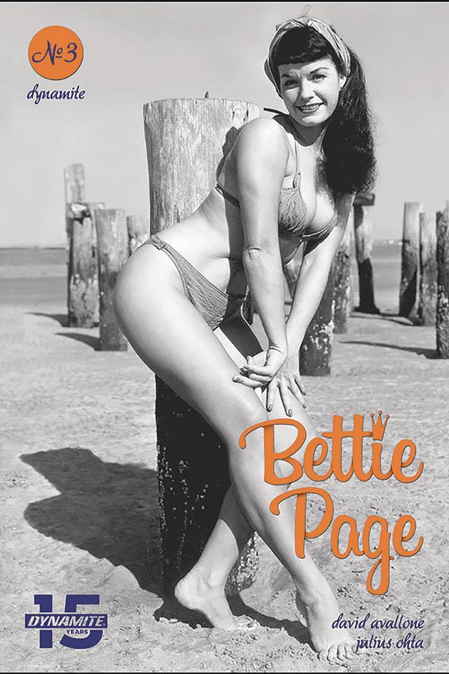 Bettie Page: Unbound #3 (Photo Cover)