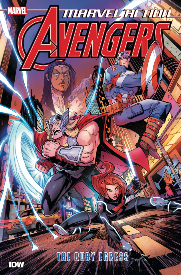 Marvel Action: Avengers Book 2: The Ruby Egress