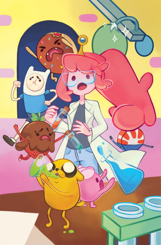 Adventure Time #58 (Subscription Jack Cover)