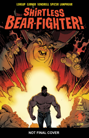 Shirtless Bear-Fighter! #2 (2nd Printing)