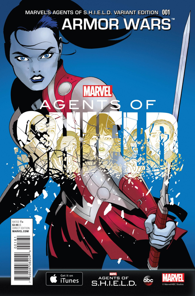 Armor Wars #1 (Agents of S.H.I.E.L.D. Cover)