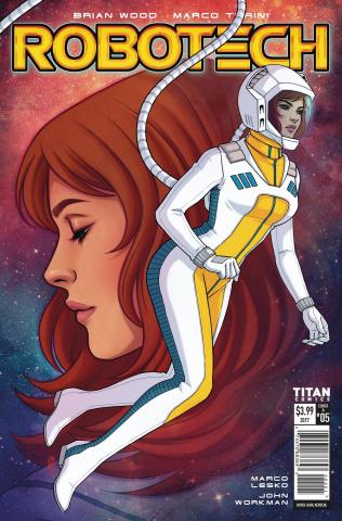 Robotech #5 (Bartel Cover)