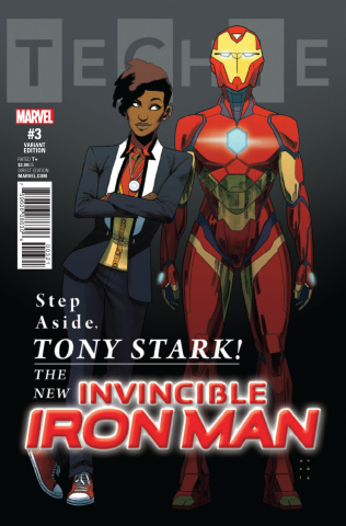 Invincible Iron Man #3 (Anka Cover)
