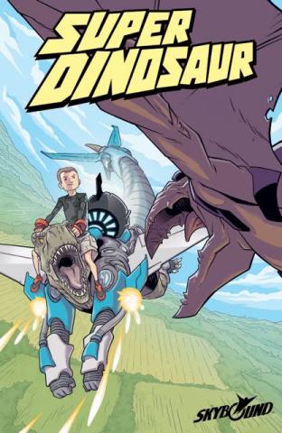Super Dinosaur #3 (2nd Printing)