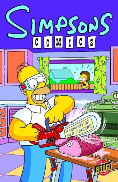 Simpsons Comics #181