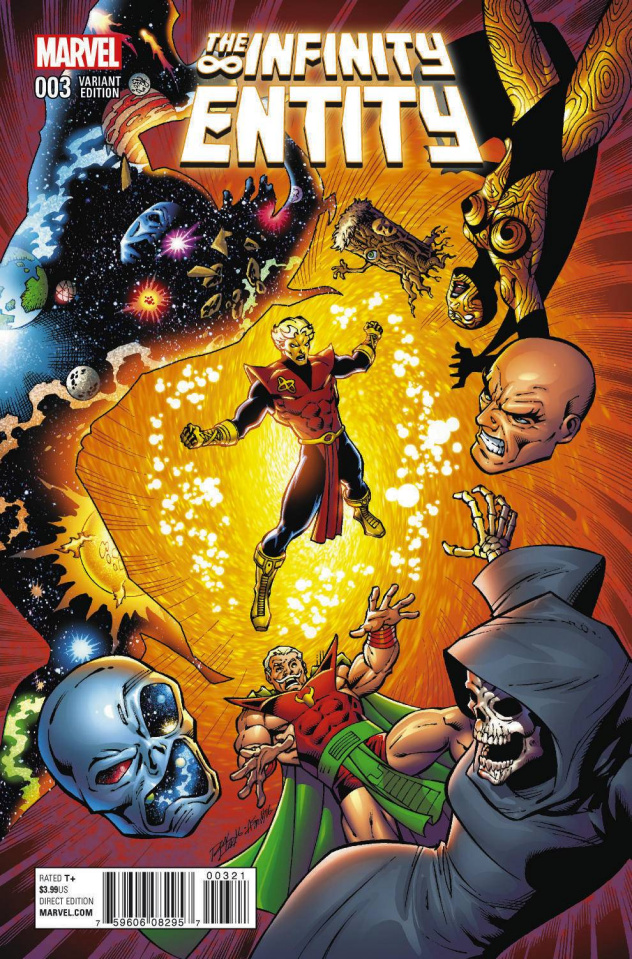 The Infinity Entity #3 (Lim Cover)
