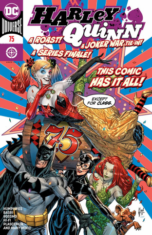 Harley Quinn #75 (Guillem March Cover)