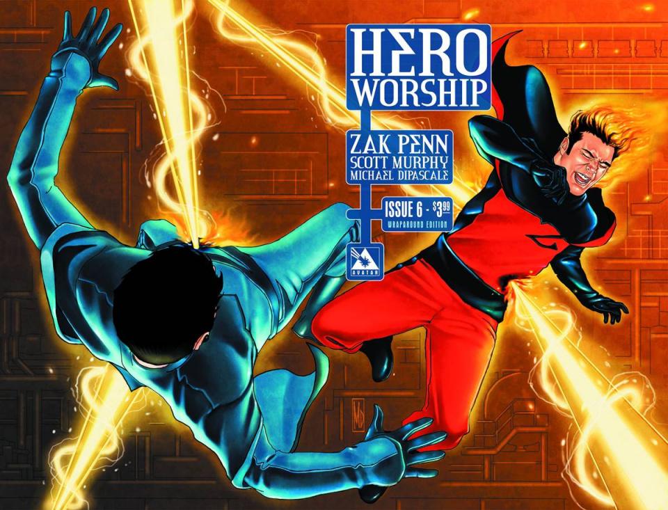 Hero Worship #6 (Wrap Cover)