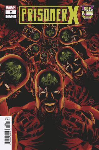 Age of X-Man: Prisoner X #2 (Johnson Cover)
