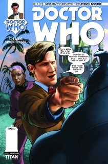 Doctor Who: New Adventures with the Eleventh Doctor #2 (10 Copy Fraser Cover)