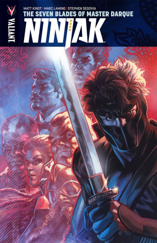 Ninjak Vol. 6: The Seven Blades of Master Darque