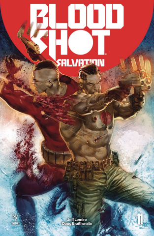 Bloodshot: Salvation #11 (Guedes Cover)
