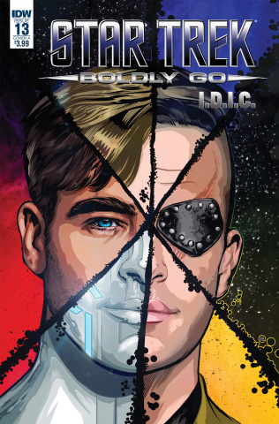 Star Trek: Boldly Go #13 (Shasteen Cover)