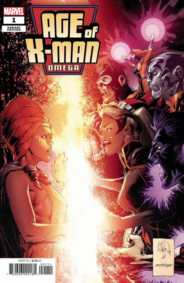 Age of X-Man: Omega #1 (Portacio Cover)